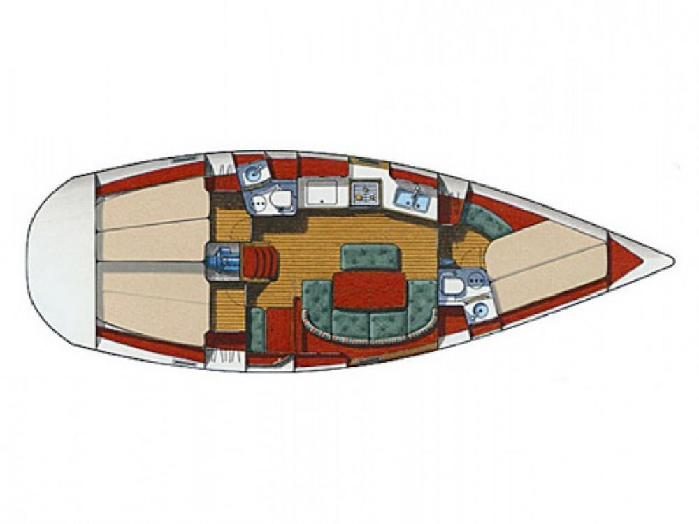 Bootsverleih Bénéteau Oceanis 381 Kalafationes Samboat