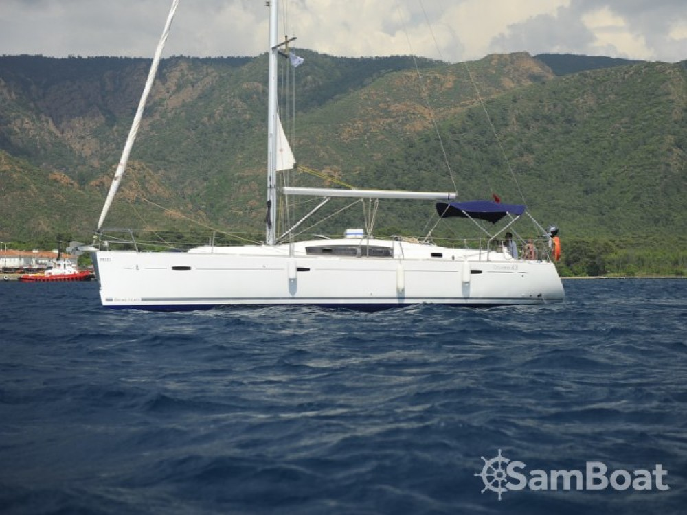 Bootsverleih Marmaris günstig Oceanis 43