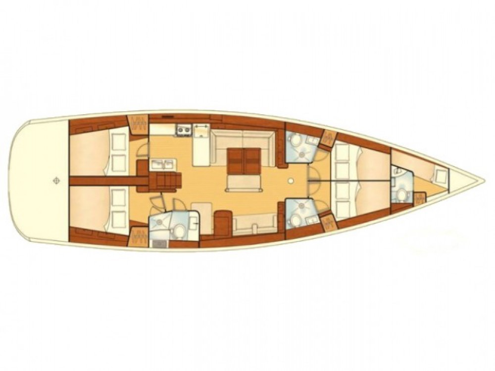 Segelboot mieten in Marmaris - Bénéteau Oceanis 54