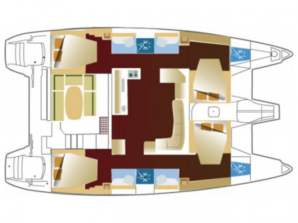 Bootsverleih Marmaris günstig Lagoon 421