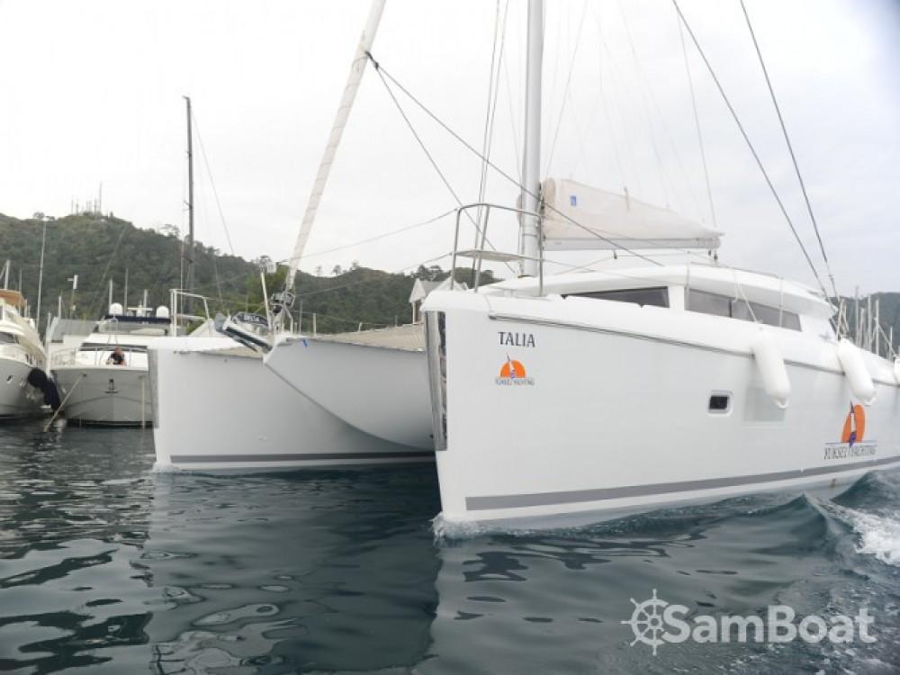 Lagoon Lagoon 421 zwischen Privatpersonen und professionellem Anbieter Marmaris