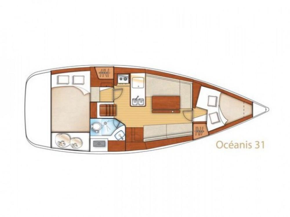 Segelboot mieten in Trau - Bénéteau Oceanis 31