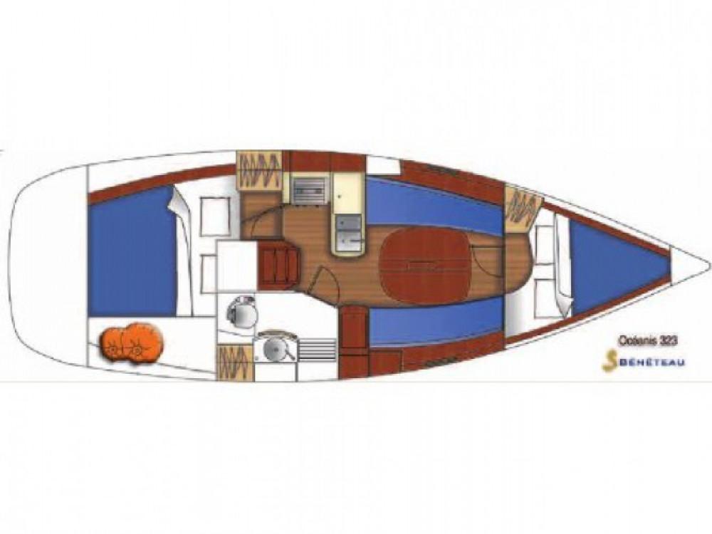 Yacht-Charter in Trau - Bénéteau Oceanis auf SamBoat