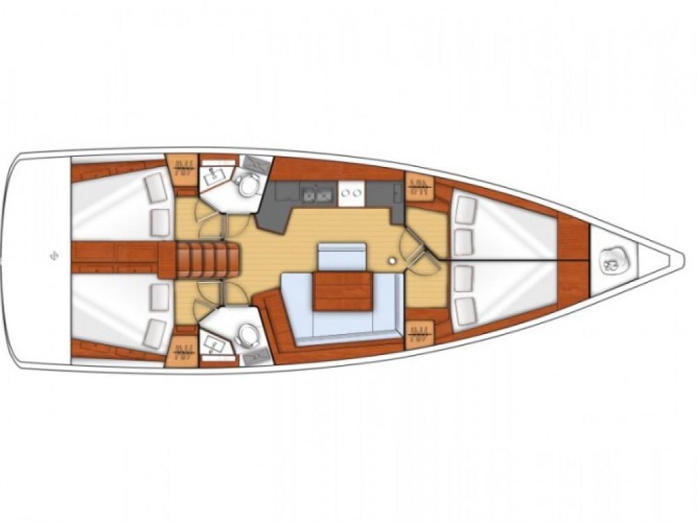 Bootsverleih Bénéteau Oceanis 45 Trau Samboat