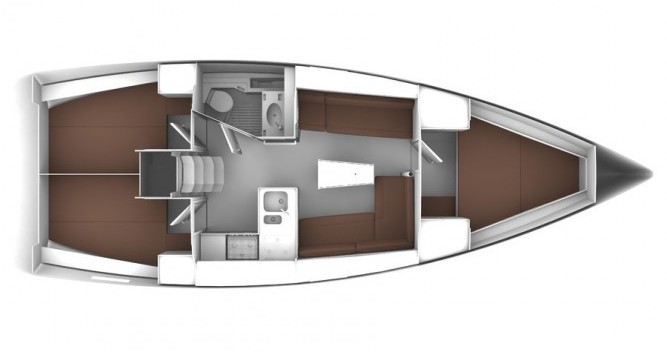 Bavaria Cruiser 37 zwischen Privatpersonen und professionellem Anbieter Biograd na Moru