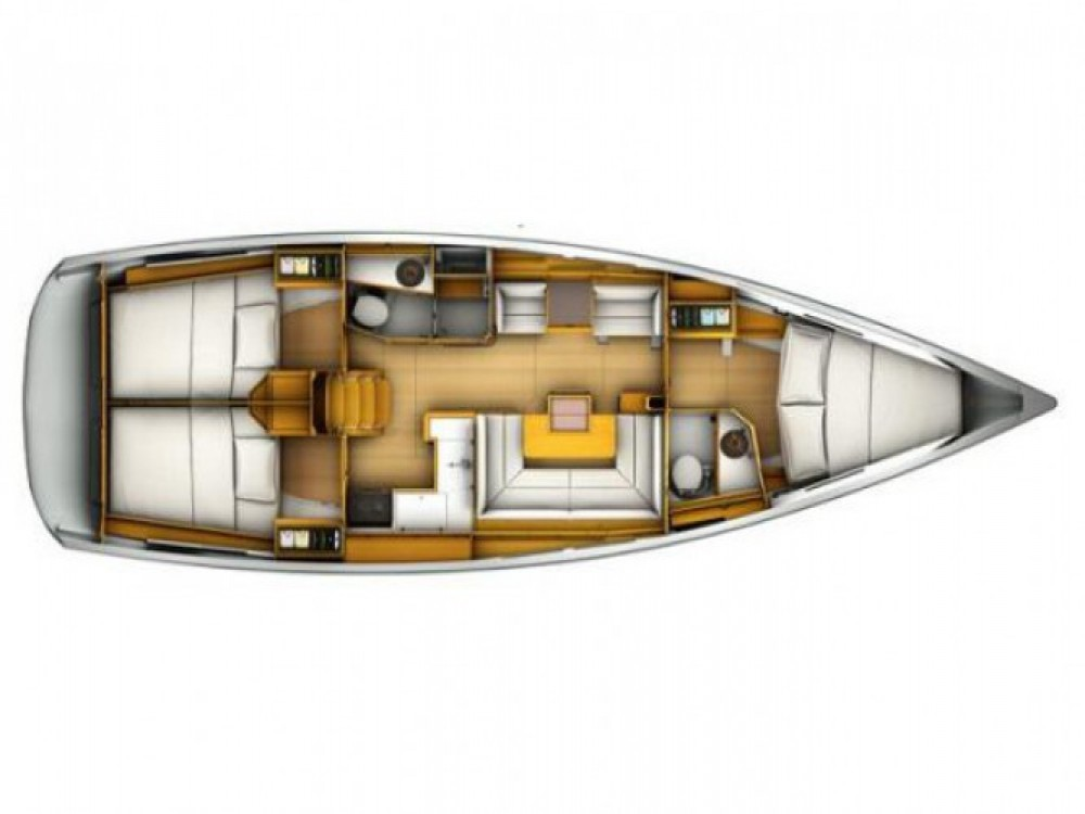 Segelboot mieten in Kaštel Gomilica - Jeanneau Sun Odyssey 409