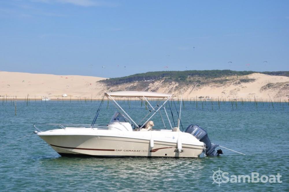 Motorboot mieten in Arcachon - Jeanneau Cap Camarat 635