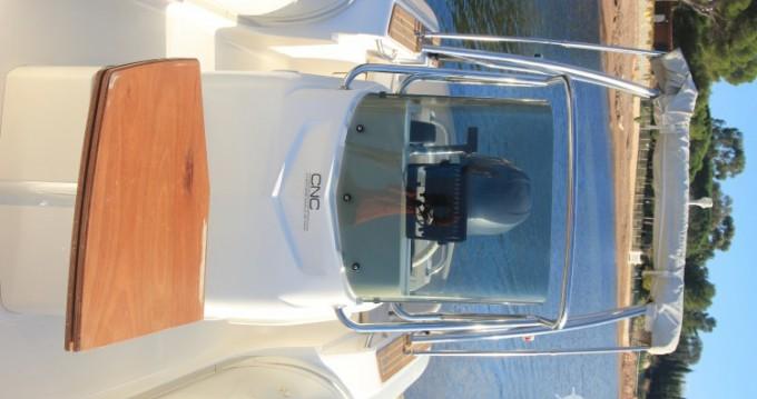 Schlauchboot mieten in Agay - Capelli Tempest 626