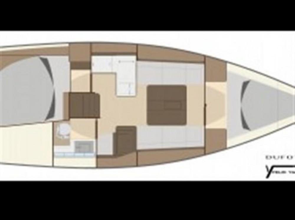 Segelboot mieten in Arzon - Dufour 335