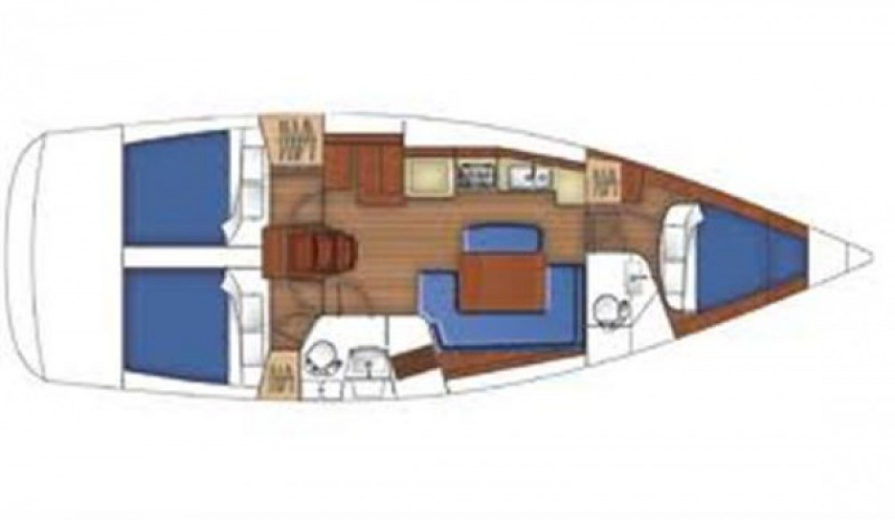 Bootsverleih Arzon günstig Oceanis 40