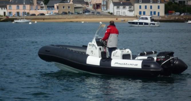 Schlauchboot mieten in Étel - Pro Marine MANTA