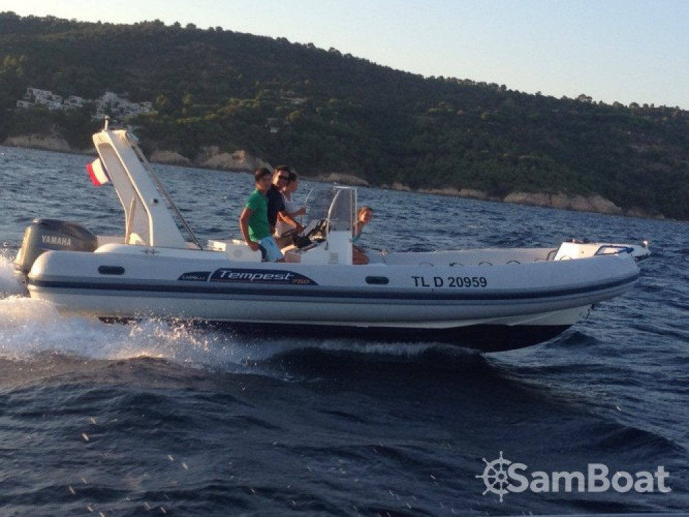 Bootsverleih Capelli Tempest 750 Saint-Raphaël Samboat