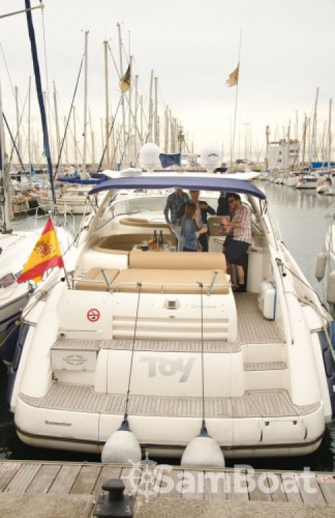 Motorboot mieten in Barcelona - Sunseeker Camargue