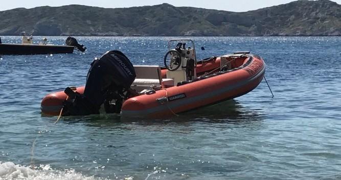 Vermietung Schlauchboot Gommorizzo mit Führerschein