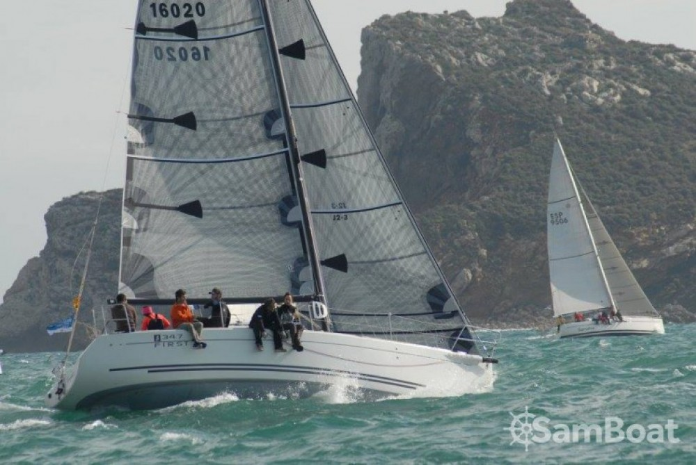 Bootsverleih Bénéteau First 34.7 Palamós Samboat