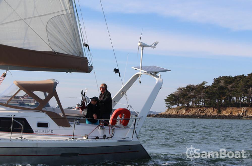 Yacht-Charter in Arradon - Allures 40 auf SamBoat