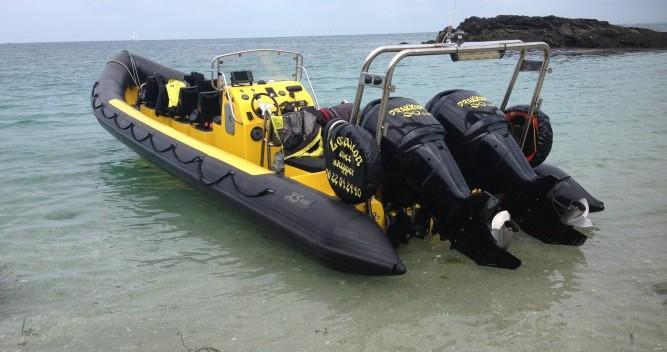 Schlauchboot mieten in Granville - Xs-Ribs semi rigide