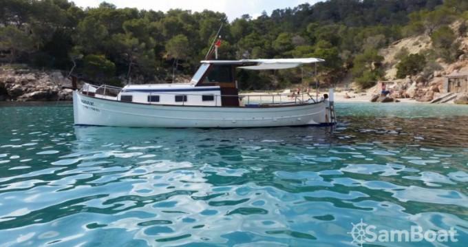 Vermietung Motorboot Copino mit Führerschein