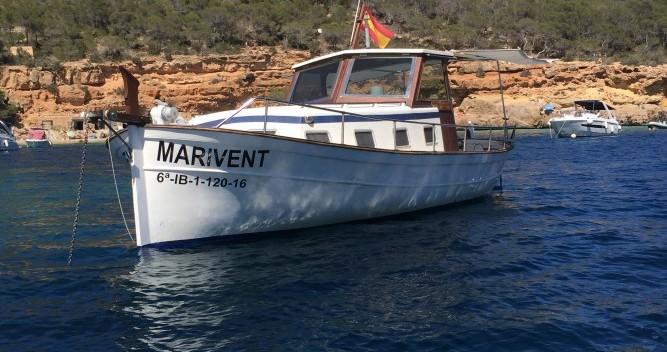Motorboot mieten in Cala Tarida - Copino Llaut copino 44