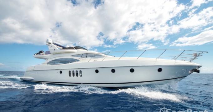 Azimut yacht zwischen Privatpersonen und professionellem Anbieter Zakynthos