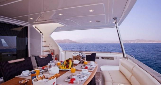 Yacht-Charter in Athen - Ferretti yacht auf SamBoat