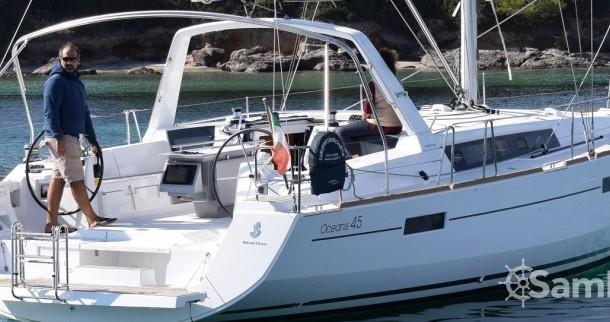 Bootsverleih Cagliari günstig Oceanis 45