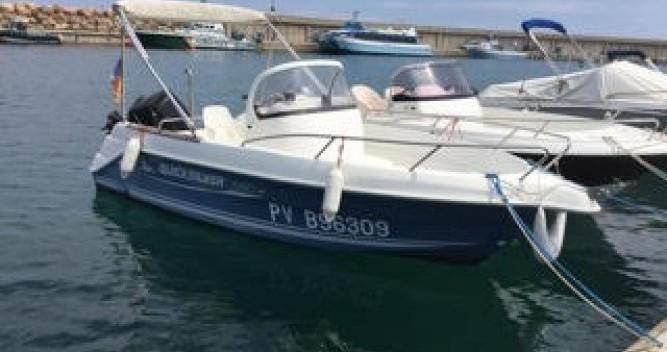 Motorboot mieten in l'Escala - Quicksilver Quicksilver 550 Commander