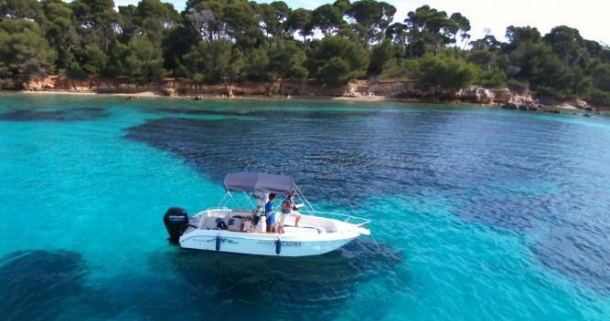 Vermietung Motorboot Conero mit Führerschein