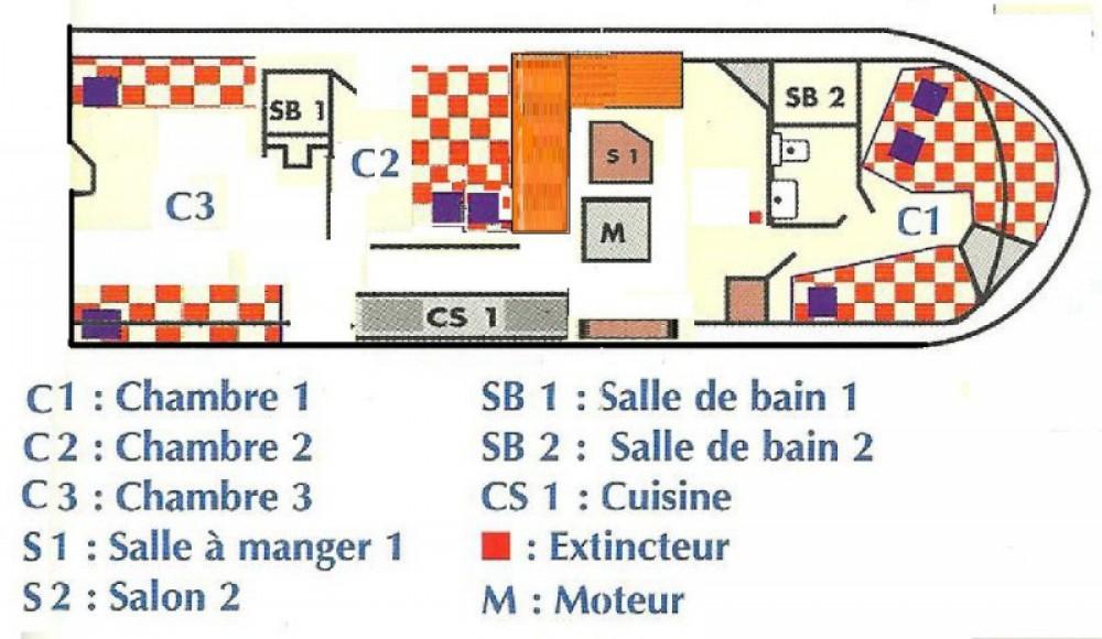 Hausboot mieten in Sète zum besten Preis