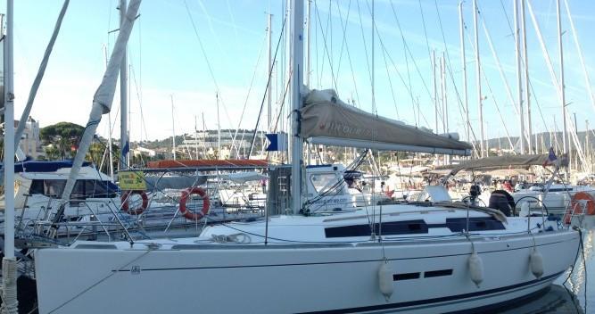 Yacht-Charter in Sanary-sur-Mer - Dufour Dufour 375 auf SamBoat