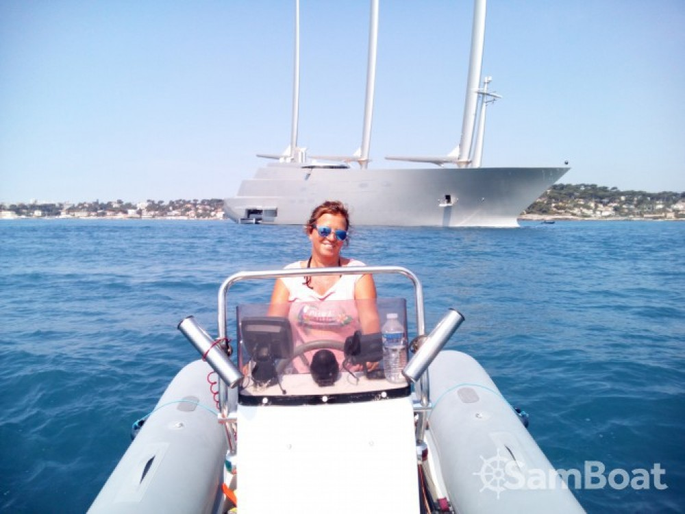Bootsverleih Capelli Tempest 500 Work Antibes Samboat