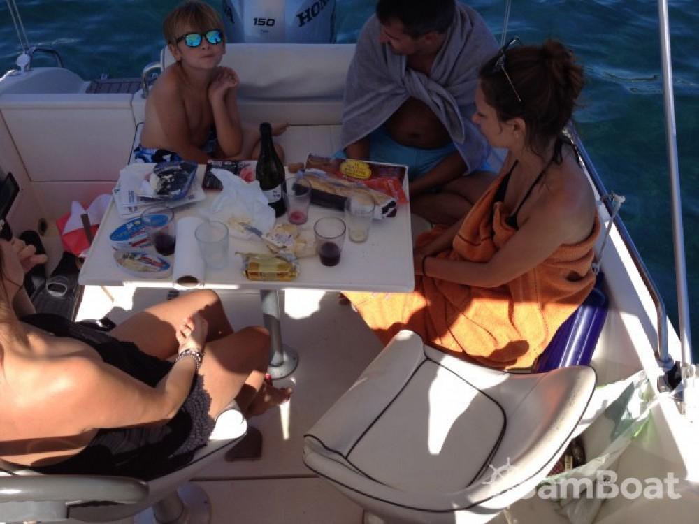 Motorboot mit oder ohne Skipper Pacific Craft mieten in Antibes
