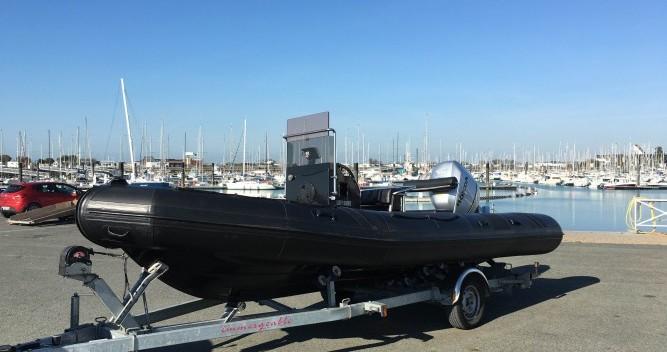 Vermietung Schlauchboot Neuvisa mit Führerschein