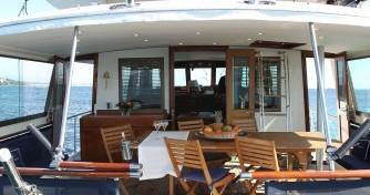 Motorboot mieten in Antibes - Hatteras M/Y 56'