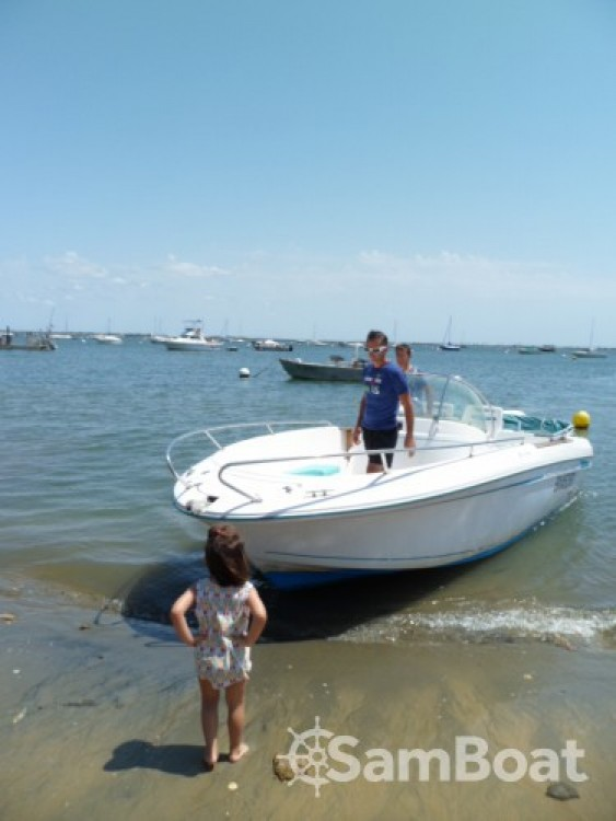 Motorboot mieten in  - Jeanneau Cap Camarat 625