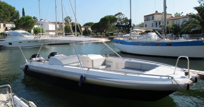 Motorboot mit oder ohne Skipper Ivela mieten in Port Grimaud