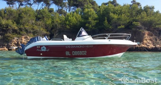 Bootsverleih Hyères günstig Pacific craft 570 Diamond Head