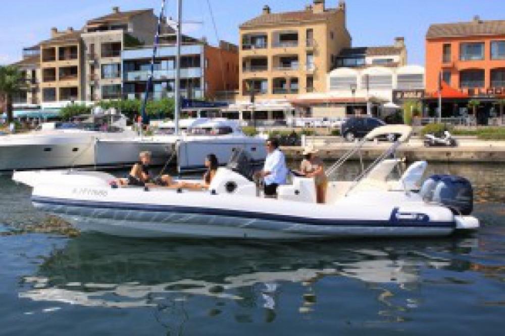 Schlauchboot mit oder ohne Skipper Marlin mieten in