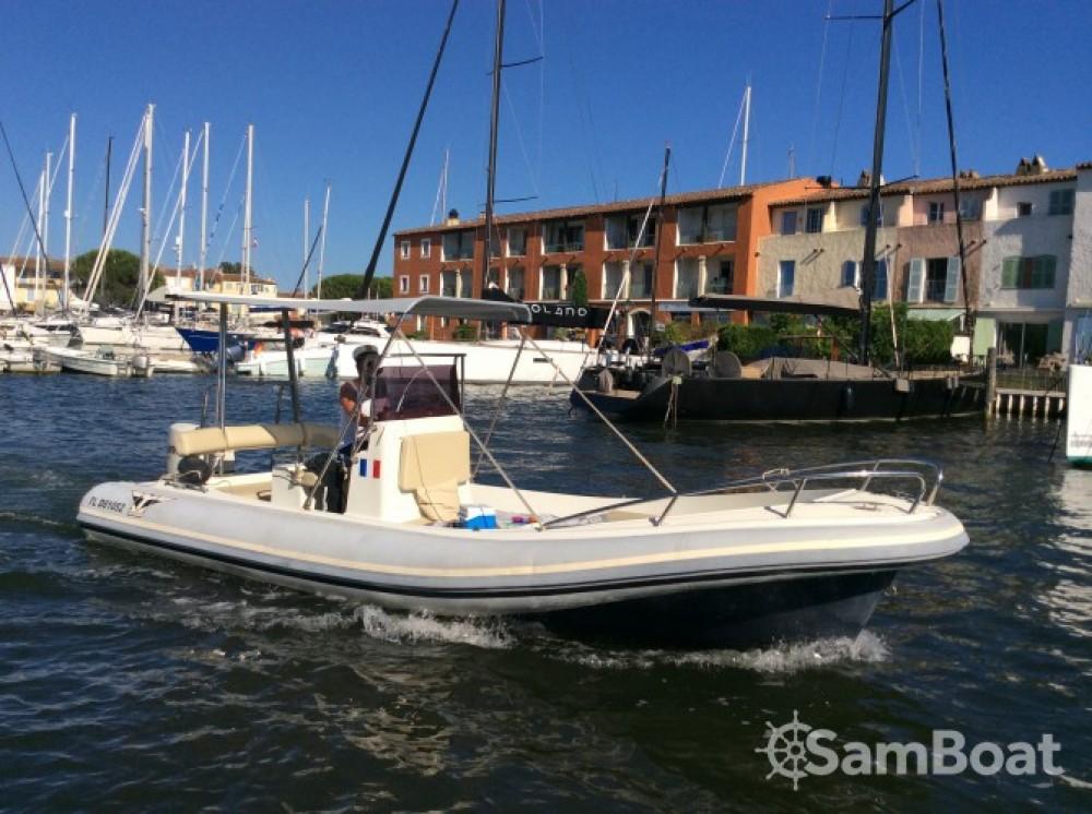 Schlauchboot mit oder ohne Skipper Katoy mieten in Grimaud