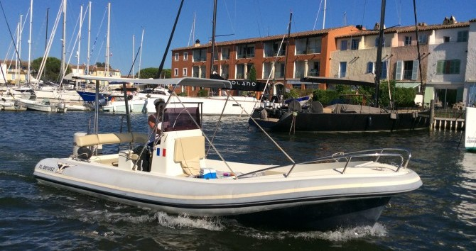 Schlauchboot mit oder ohne Skipper Katoy mieten in Port Grimaud