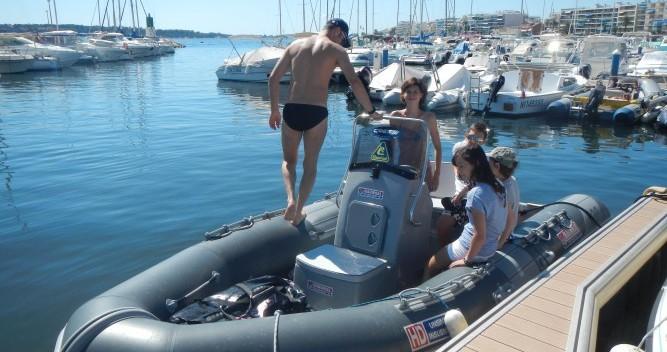 Bootsverleih Cannes günstig HD 520