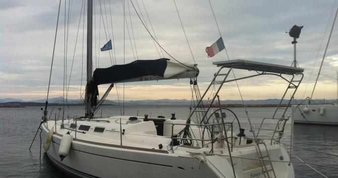 Dufour Dufour 40 Performance zwischen Privatpersonen und professionellem Anbieter La Seyne-sur-Mer