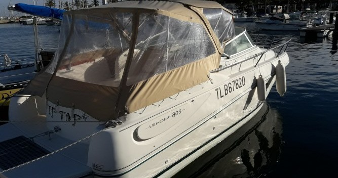 Motorboot mieten in Cavalaire-sur-Mer - Jeanneau Leader 805