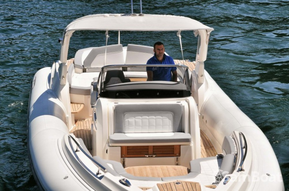Bootsverleih Porto-Vecchio günstig Marlin Boat 38 Top