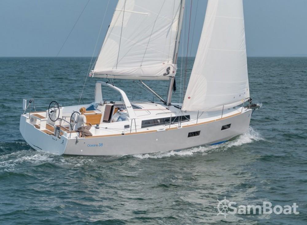 Bootsverleih Kroatien günstig Oceanis 38