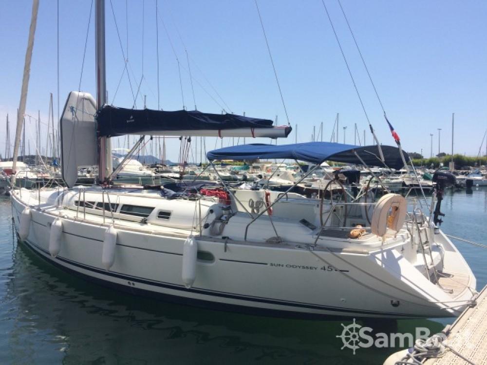 Yacht-Charter in Toulon - Jeanneau Sun Odyssey 45 auf SamBoat
