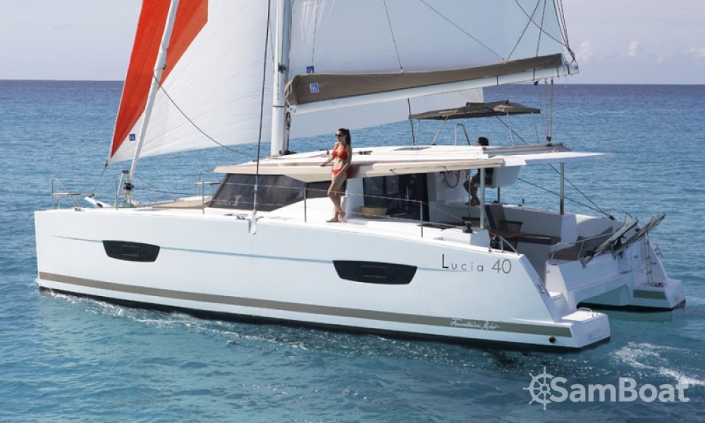 Yacht-Charter in Cannes - Fountaine Pajot Lucia 40 auf SamBoat