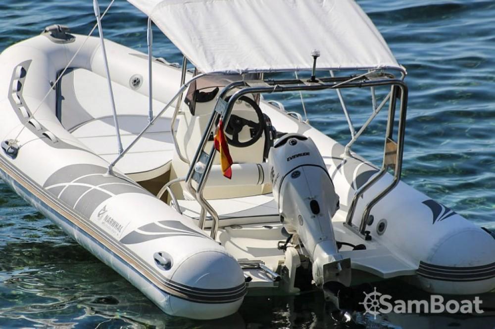 Schlauchboot mit oder ohne Skipper Narwhal mieten in Balearische Inseln