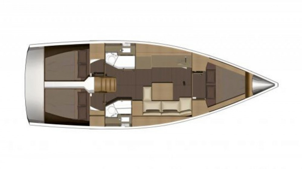 Bootsverleih Marina di Portorosa günstig Dufour 382 Grand Large