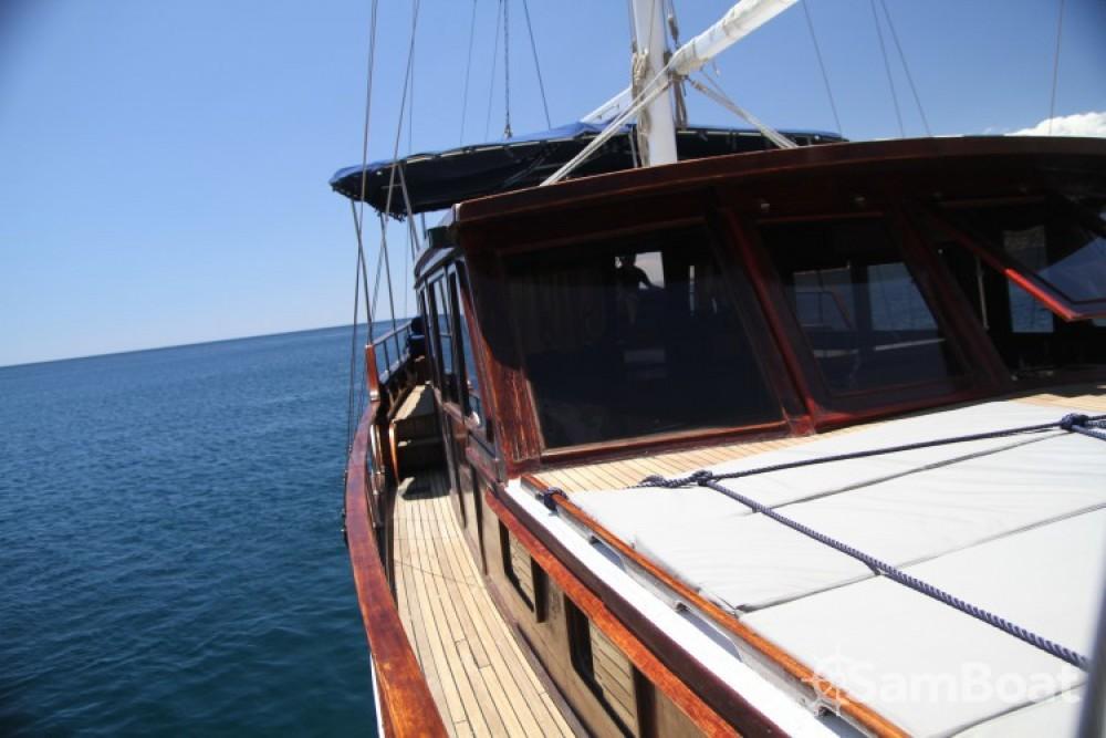 Vermietung Segelboot Caicco mit Führerschein